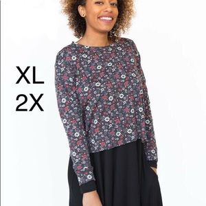 Agnes and Dora pullover floral